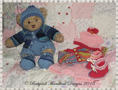 Jacket & Shorts Set for 16 inch Teddy or Build a Bear Animal