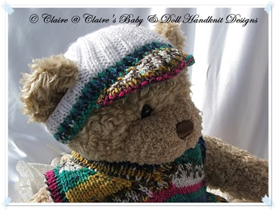 Slipover and Shorts Set 16 inch Teddy Bear/Bunny