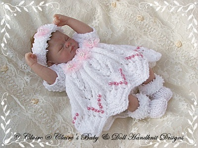 Dress & Shrug Set 10-12� doll-