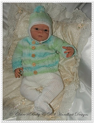 Winter Jacket & Leggings Set 12-18 inch doll