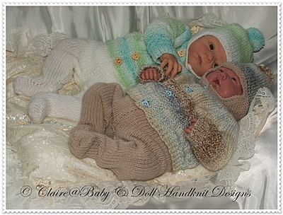 Winter Jacket & Leggings Set 12-18 inch doll